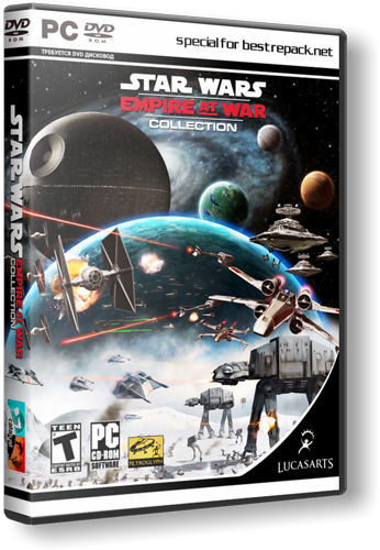 Star Wars Empire At War Collection (2006) PC | Repack от R.G. Catalyst
