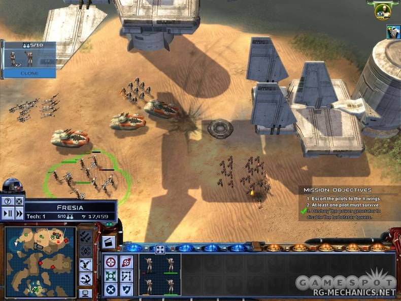 Скриншот к игре Star Wars Empire At War Collection (2006) PC | Repack от R.G. Catalyst