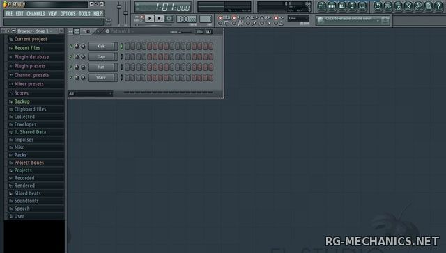 Скриншот к игре FL Studio Producer Edition 11.1.0 Producer Edition (2014) Repack by R2R