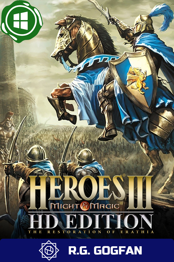 Heroes of Might and Magic 3 Complete [GOG | Windows] (ENG/RUS/MULTI4) от R.G. GOGFAN (1999) (1999)