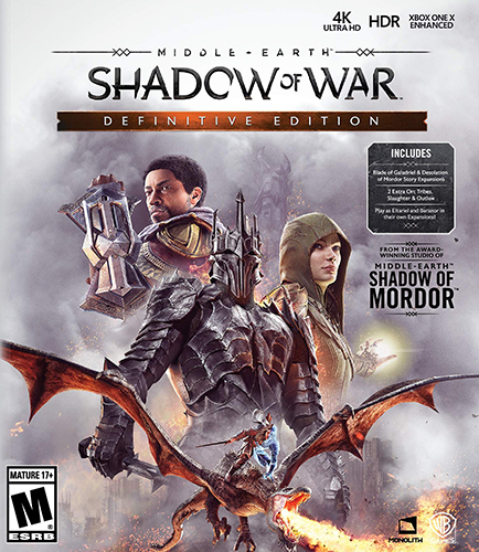 Middle-earth: Shadow of War - Definitive Edition [v 1.21 + DLCs] (2018)