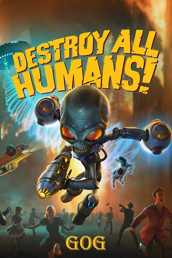 Обложка к игре Destroy All Humans! v.1.4 [GOG] (2005-2020) Лицензия
